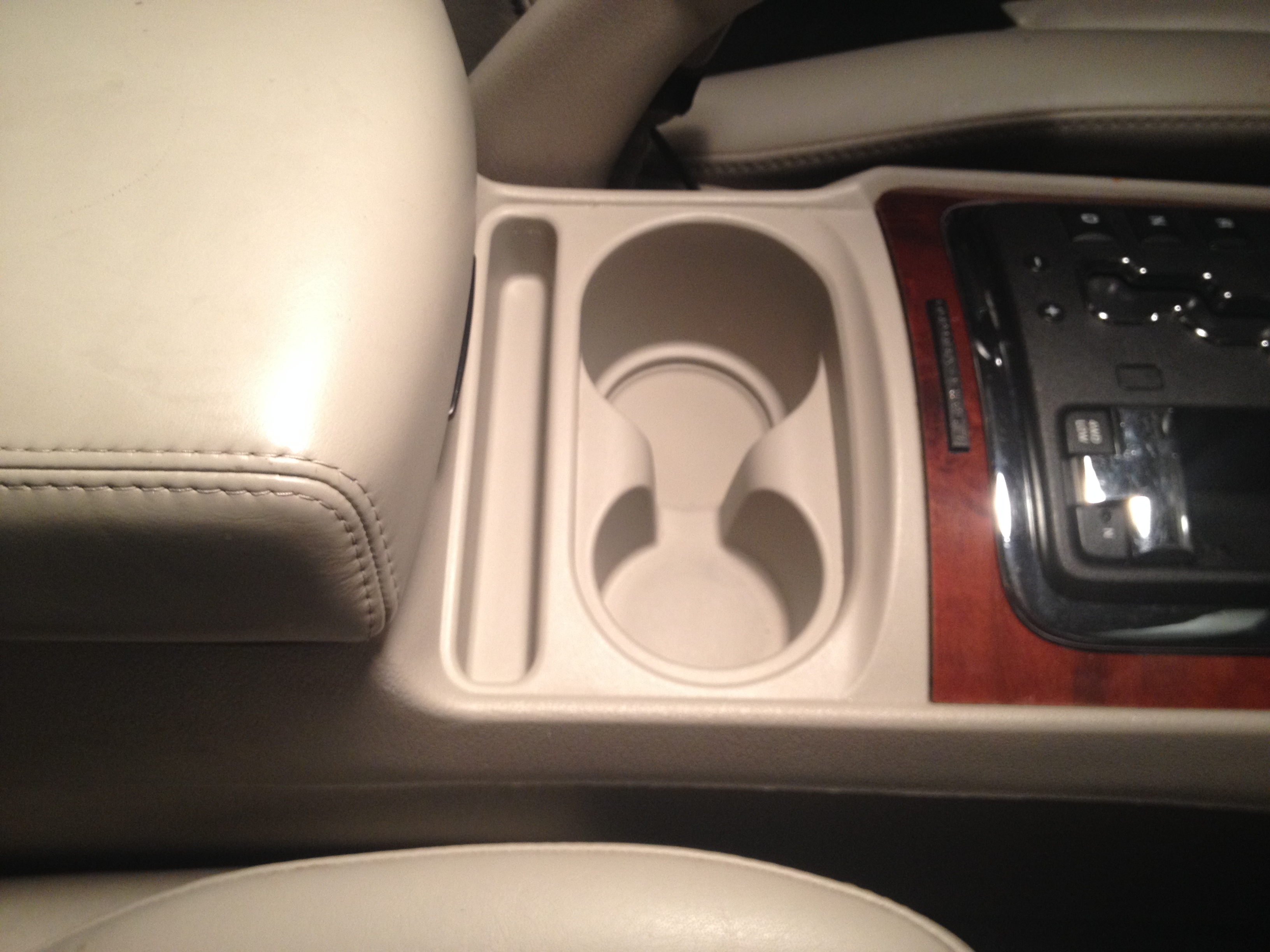 Center Console After