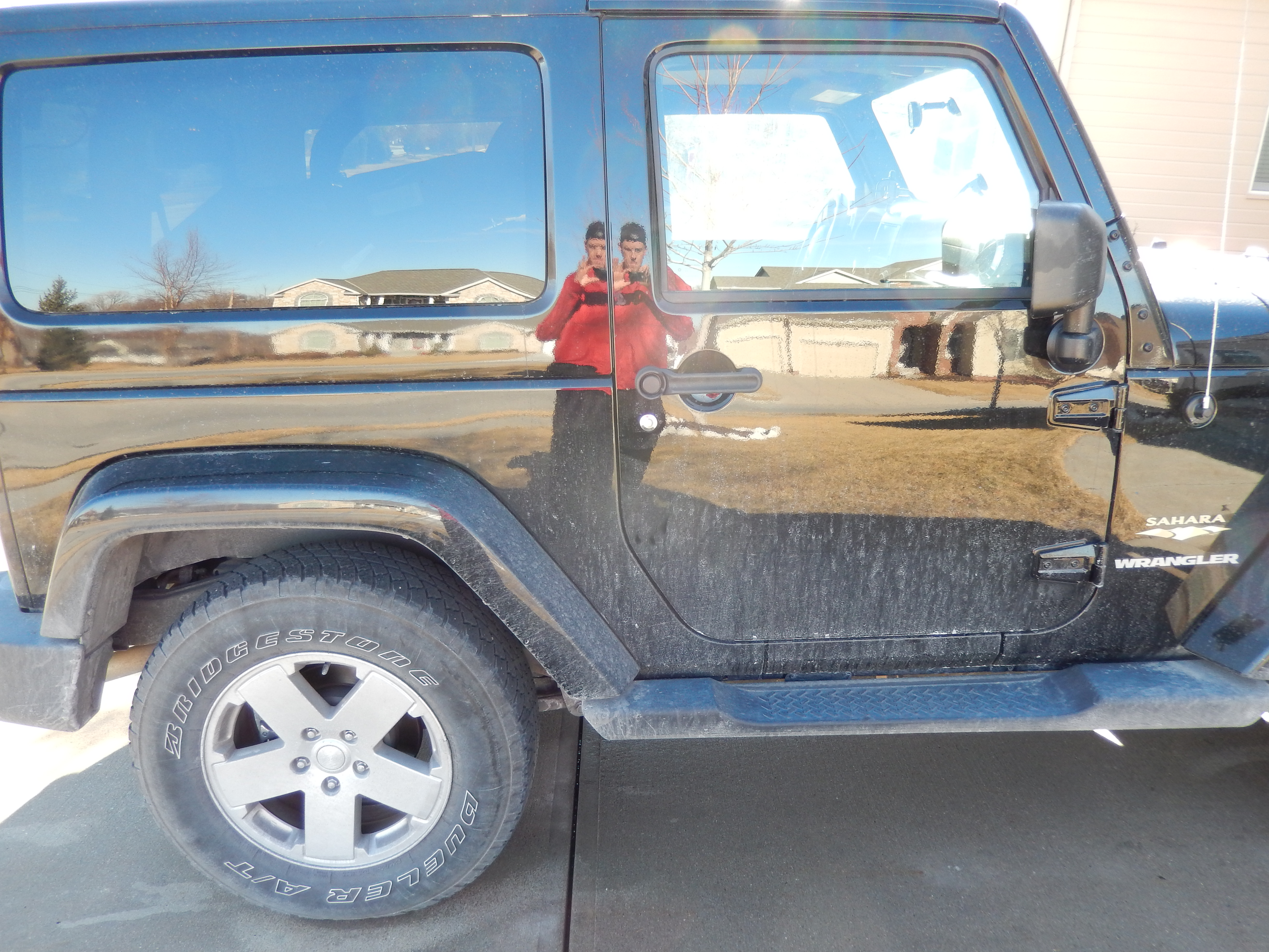 Jeep Passenger Side Before