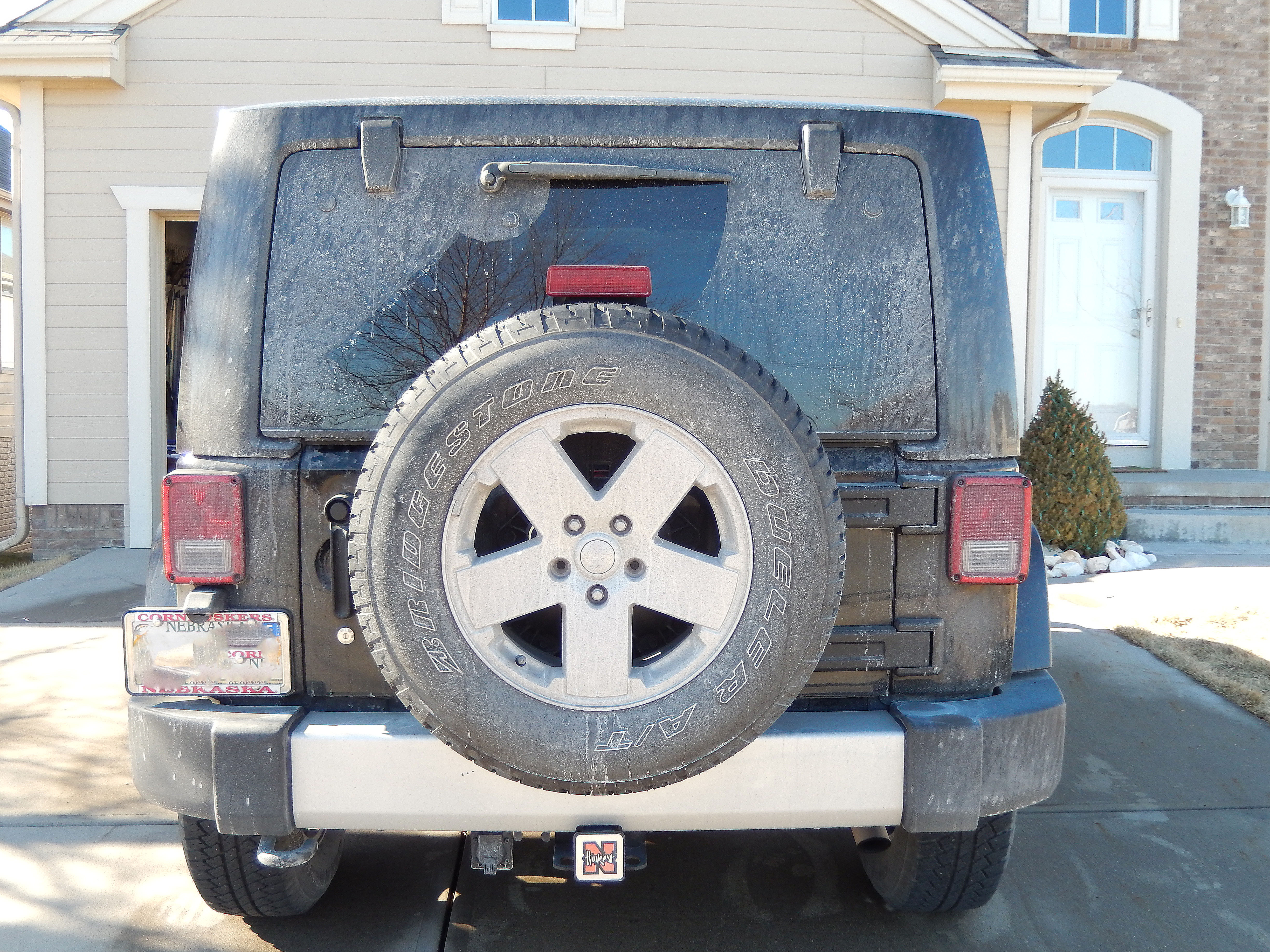 Rear Jeep Before